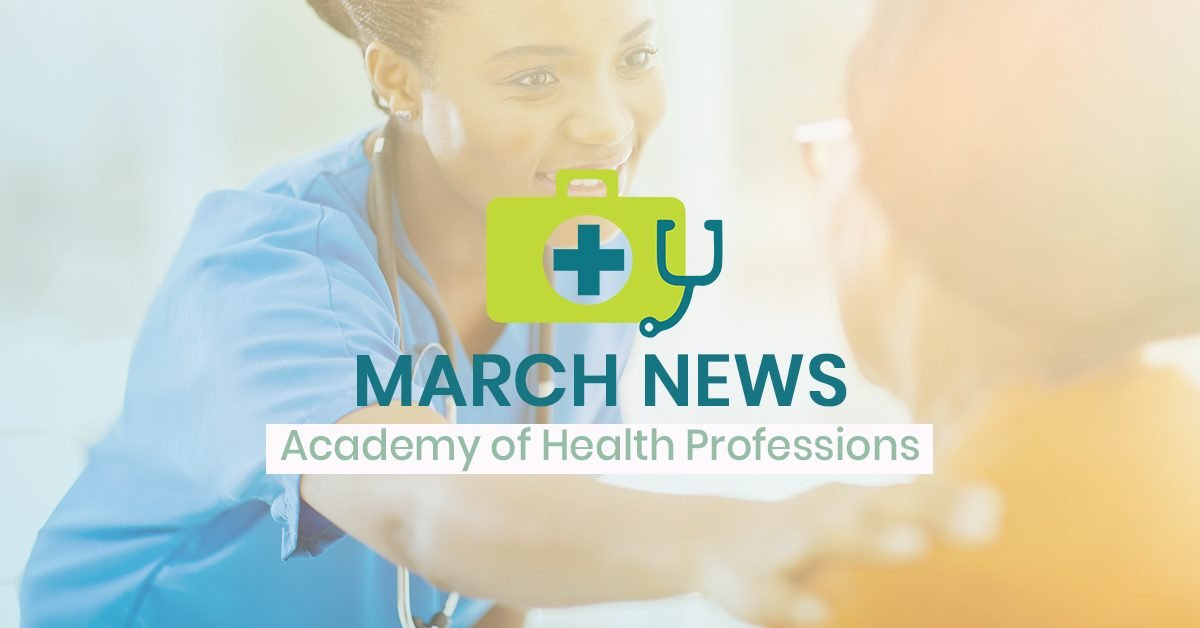 CCTC News for March - Academy of Health Professions